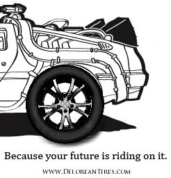 delorean tires project