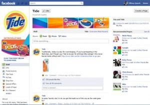 Tide Facebook Fanpage